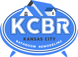 Logo for KCBR - Kansas City's Premiere Bathroom Remodelers!